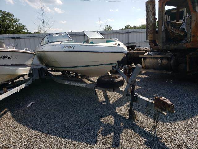 Salvage boats for sale at Fredericksburg, VA auction: 1993 Stingray Boat With Trailer