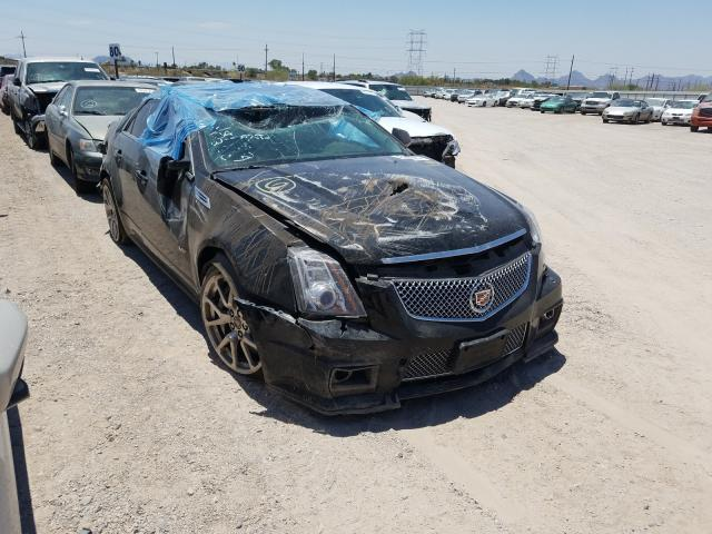 Salvage cars for sale from Copart Tucson, AZ: 2009 Cadillac CTS-V