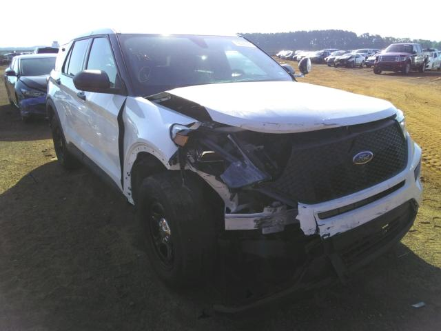Salvage cars for sale from Copart Longview, TX: 2020 Ford Explorer P