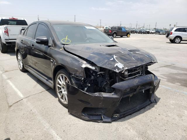 Mitsubishi salvage cars for sale: 2015 Mitsubishi Lancer EVO