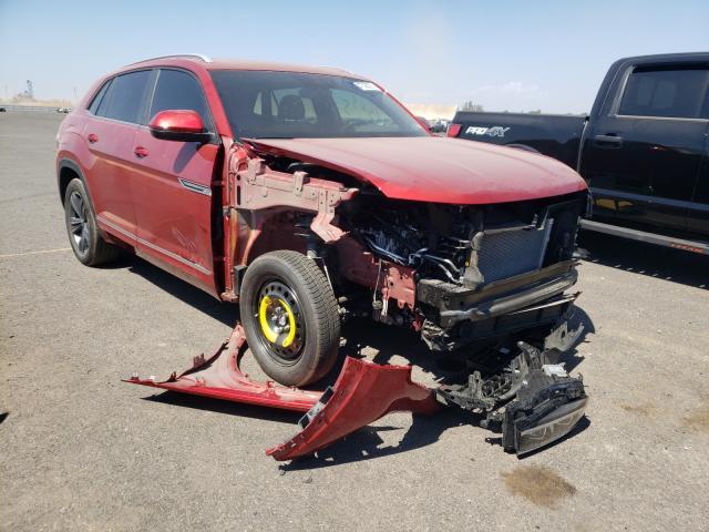 Salvage cars for sale from Copart Sacramento, CA: 2020 Volkswagen Atlas Cros