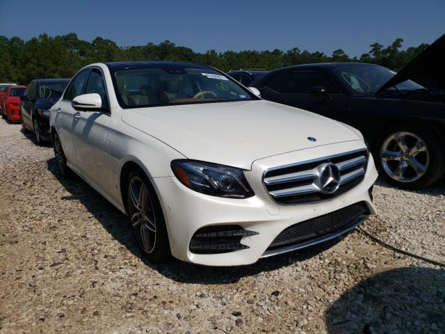 Salvage cars for sale from Copart Houston, TX: 2019 Mercedes-Benz E 450 4matic