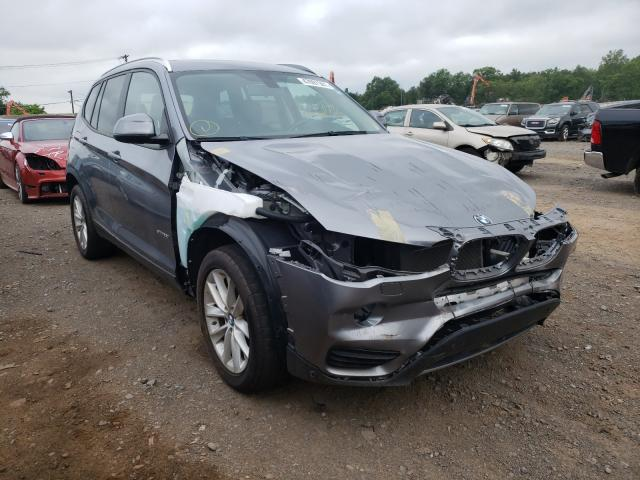 Salvage cars for sale from Copart Hillsborough, NJ: 2017 BMW X3 SDRIVE2