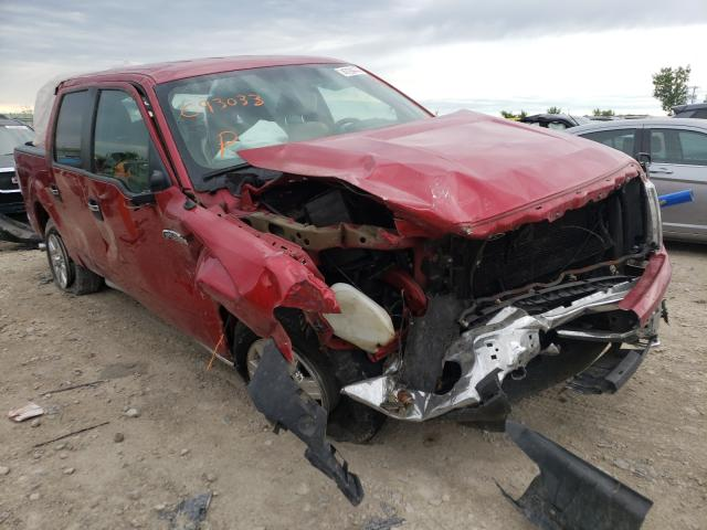 Salvage cars for sale from Copart Kansas City, KS: 2011 Ford F150 Super
