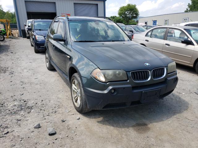 BMW Vehiculos salvage en venta: 2005 BMW X3 3.0I