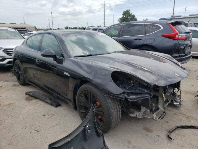 Salvage cars for sale from Copart Riverview, FL: 2012 Porsche Panamera 2
