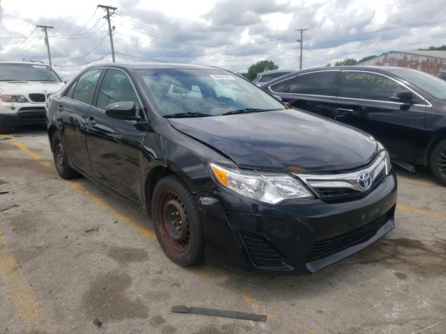 Salvage cars for sale from Copart Chicago Heights, IL: 2014 Toyota Camry Hybrid