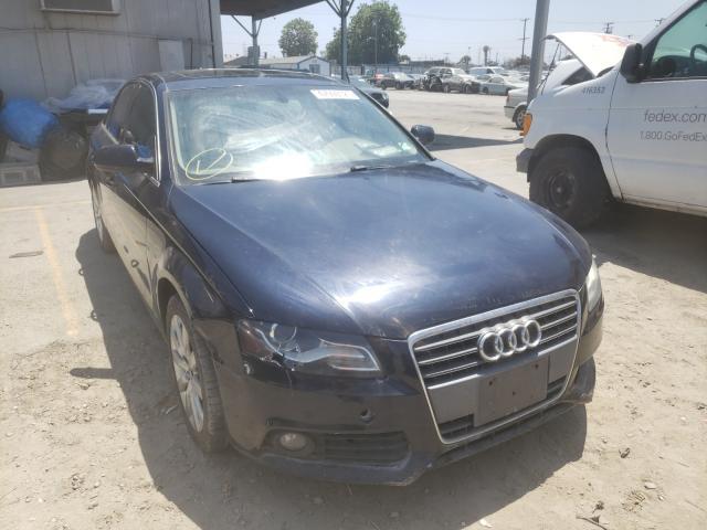 Audi salvage cars for sale: 2010 Audi A4 Premium