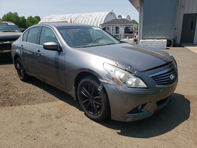 Salvage cars for sale from Copart East Granby, CT: 2011 Infiniti G25