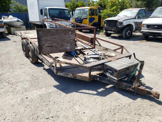 Salvage cars for sale from Copart Hayward, CA: 2009 Special Construction Trailer