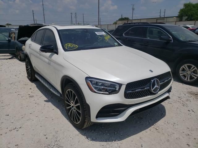 Salvage cars for sale from Copart Haslet, TX: 2021 Mercedes-Benz GLC Coupe