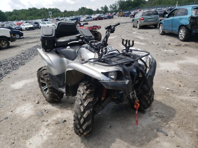 Salvage cars for sale from Copart Duryea, PA: 2011 Yamaha YFM700 FWA