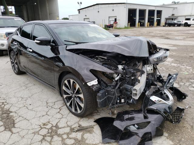 Salvage cars for sale from Copart Riverview, FL: 2016 Nissan Maxima 3.5