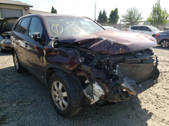 Salvage cars for sale from Copart Eugene, OR: 2013 KIA Sorento LX