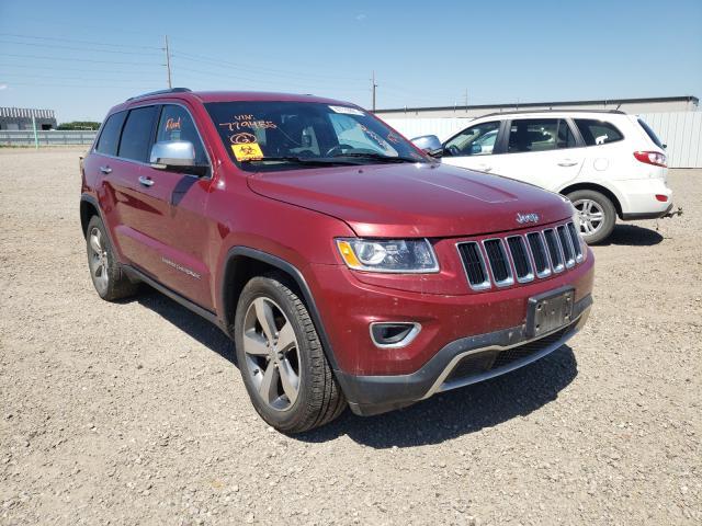 Vehiculos salvage en venta de Copart Bismarck, ND: 2015 Jeep Grand Cherokee