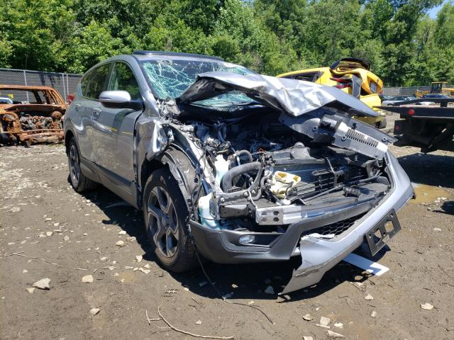 Salvage cars for sale from Copart Waldorf, MD: 2018 Honda CR-V EX