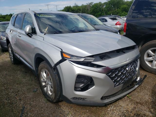 Salvage cars for sale from Copart Pekin, IL: 2019 Hyundai Santa FE S