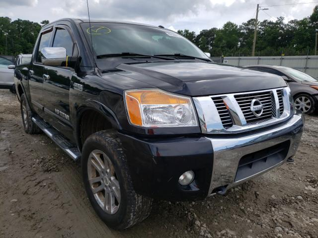 Salvage cars for sale from Copart Ellenwood, GA: 2014 Nissan Titan S