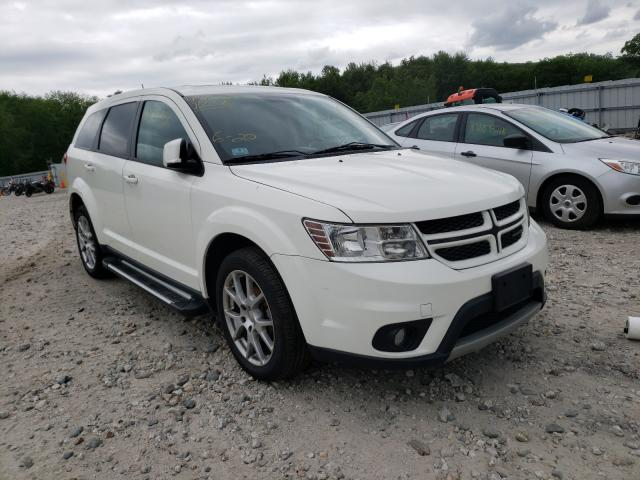 Salvage cars for sale from Copart West Warren, MA: 2011 Dodge Journey R