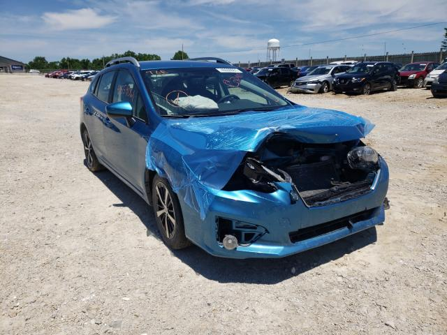 Salvage cars for sale from Copart Columbia, MO: 2019 Subaru Impreza PR