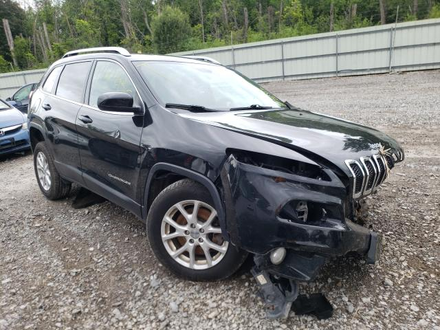 Salvage cars for sale from Copart Leroy, NY: 2016 Jeep Cherokee L