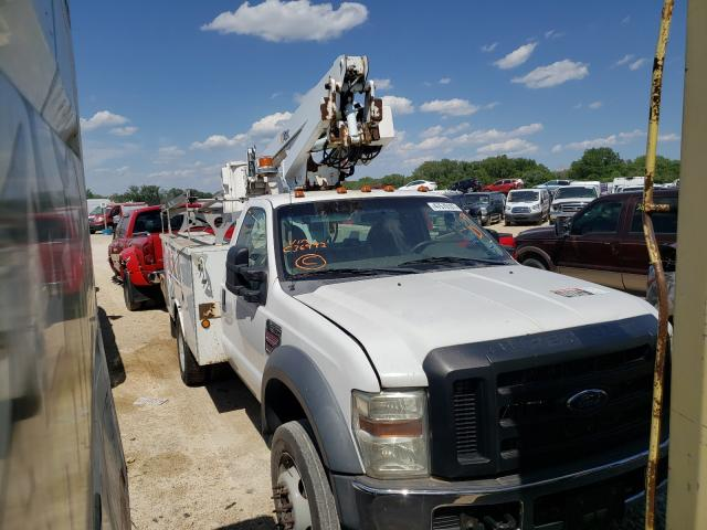 Salvage cars for sale from Copart Kansas City, KS: 2008 Ford F450 Super