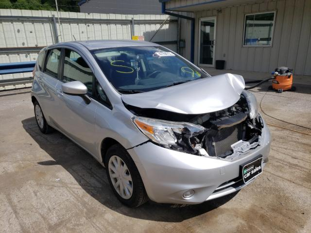 Salvage cars for sale at Ellwood City, PA auction: 2015 Nissan Versa Note