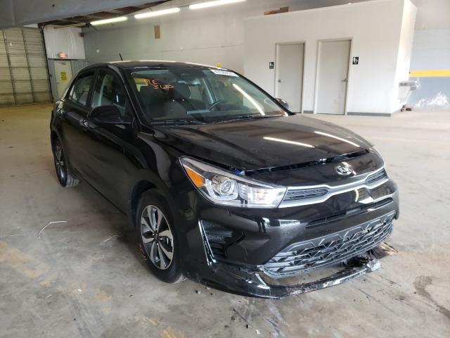 KIA Rio salvage cars for sale: 2021 KIA Rio