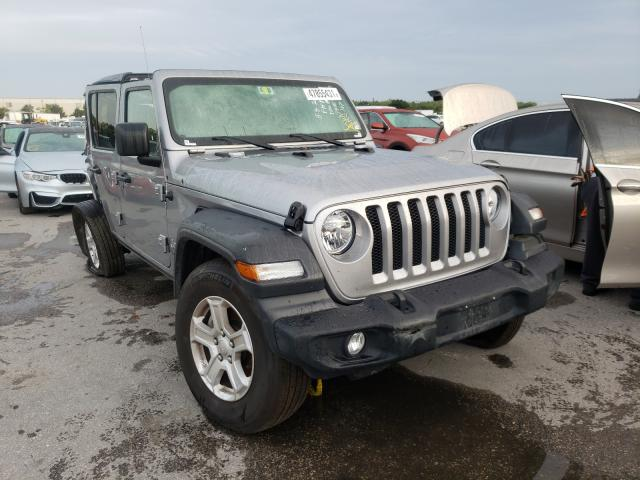 Salvage cars for sale from Copart Orlando, FL: 2020 Jeep Wrangler U