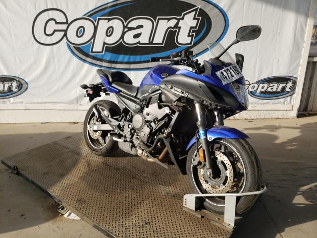 Salvage cars for sale from Copart Grand Prairie, TX: 2010 Yamaha FZ6 R