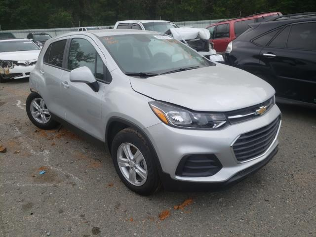Salvage cars for sale from Copart Shreveport, LA: 2021 Chevrolet Trax LS