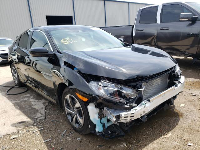 Salvage cars for sale from Copart Apopka, FL: 2020 Honda Civic LX