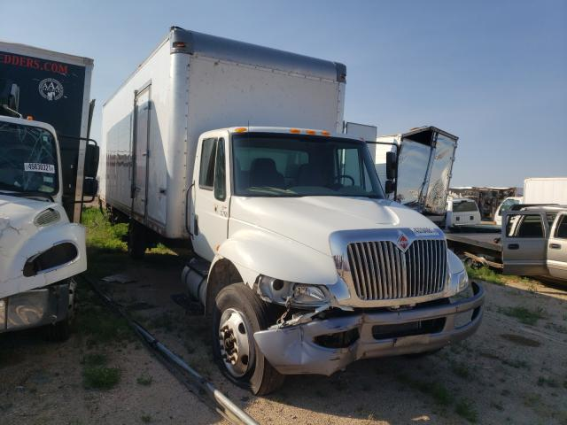 Salvage cars for sale from Copart Amarillo, TX: 2018 International 4000 4300