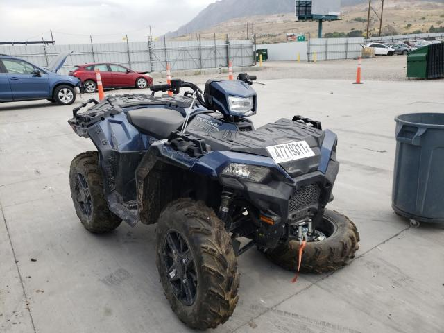 Salvage cars for sale from Copart Farr West, UT: 2021 Polaris Sportsman