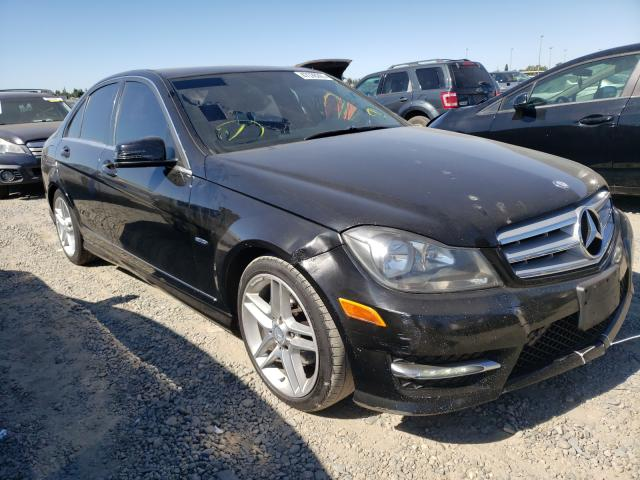 Salvage cars for sale from Copart Sacramento, CA: 2012 Mercedes-Benz C 250