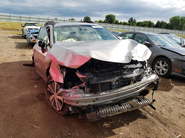 Salvage cars for sale from Copart Portland, MI: 2019 Subaru Outback 2