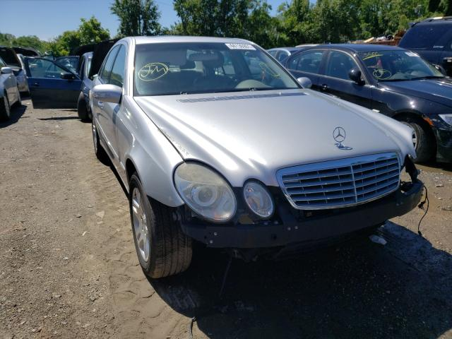 Salvage cars for sale from Copart Baltimore, MD: 2004 Mercedes-Benz E 320 4matic