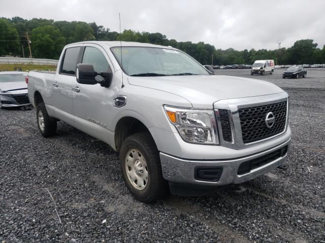 Salvage cars for sale from Copart Gastonia, NC: 2017 Nissan Titan XD S