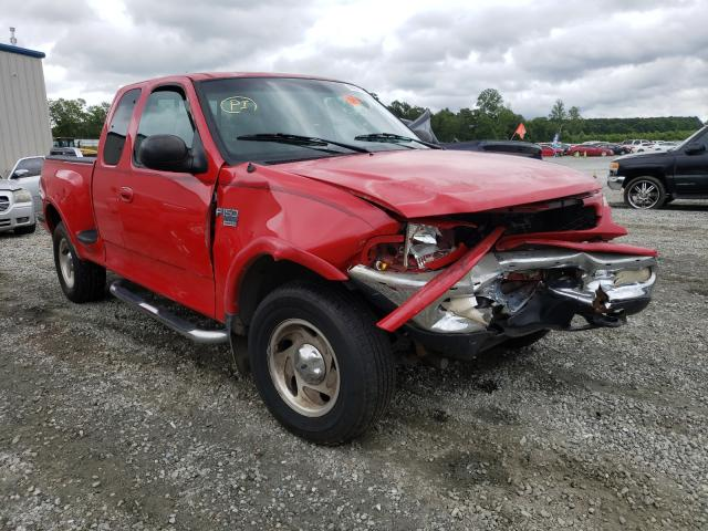 Salvage cars for sale from Copart Spartanburg, SC: 1998 Ford F150