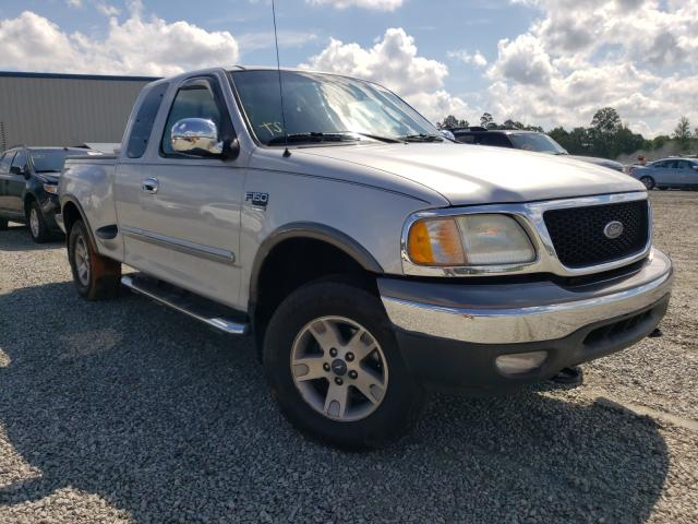 Salvage cars for sale from Copart Spartanburg, SC: 2003 Ford F150