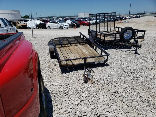 Salvage cars for sale from Copart Tulsa, OK: 2010 Utility Trailer