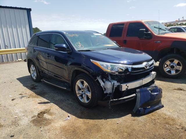 Salvage cars for sale from Copart Shreveport, LA: 2016 Toyota Highlander