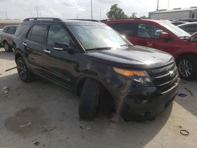 Salvage cars for sale from Copart Riverview, FL: 2014 Ford Explorer S