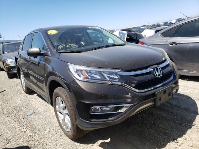 Vehiculos salvage en venta de Copart Martinez, CA: 2015 Honda CR-V EX