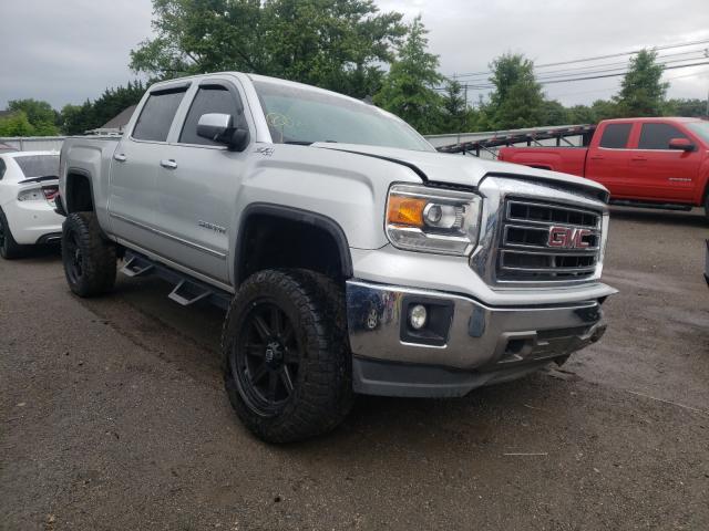 Salvage trucks for sale at Finksburg, MD auction: 2014 GMC Sierra K15