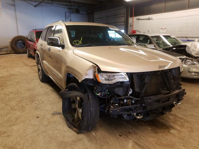 Salvage cars for sale from Copart Wheeling, IL: 2015 Jeep Grand Cherokee