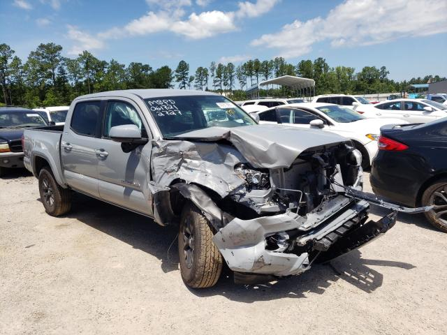 Salvage cars for sale from Copart Harleyville, SC: 2021 Toyota Tacoma DOU