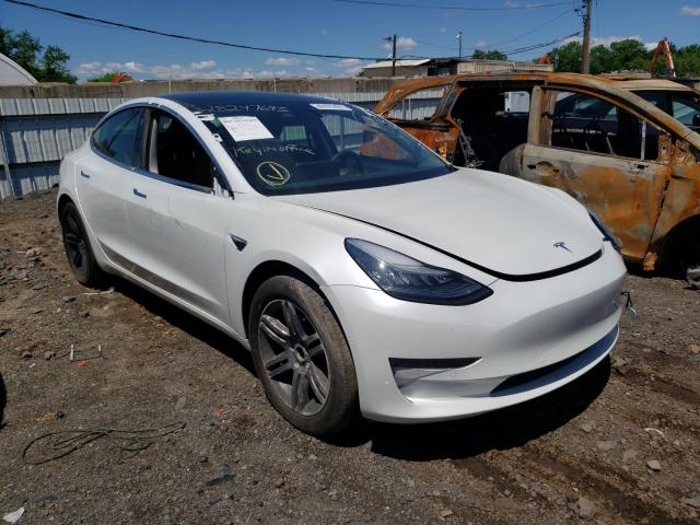 Salvage cars for sale from Copart Hillsborough, NJ: 2020 Tesla Model 3