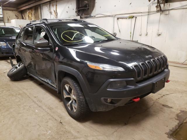 Vehiculos salvage en venta de Copart Casper, WY: 2014 Jeep Cherokee T