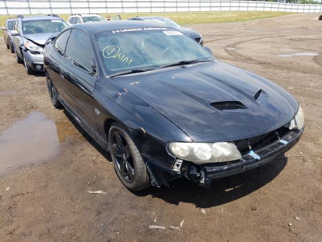 Pontiac Vehiculos salvage en venta: 2005 Pontiac GTO